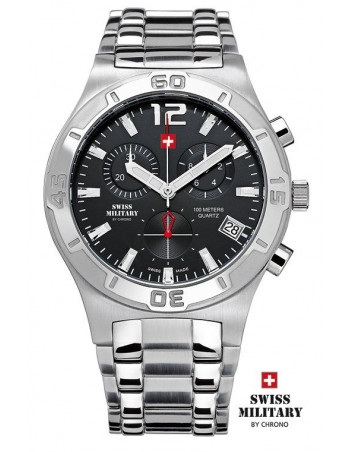Men's Swiss Military by Chrono 20072-ST-1M watch