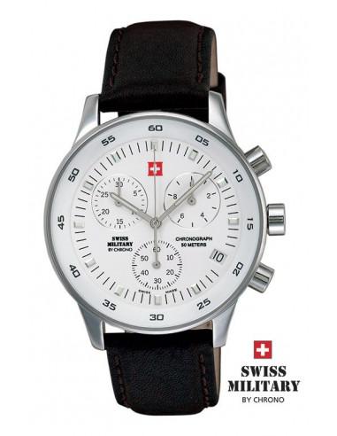 Men's Swiss Military by CHRONO 17700-ST-2L Watch
