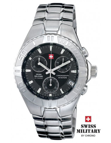 Men's Swiss Military by Chrono 18000-ST-1M watch