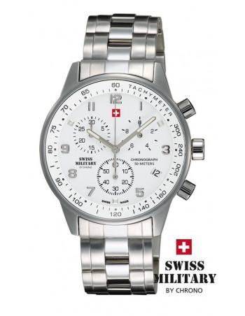 Men's Swiss Military by CHRONO 20042-ST-2M Watch