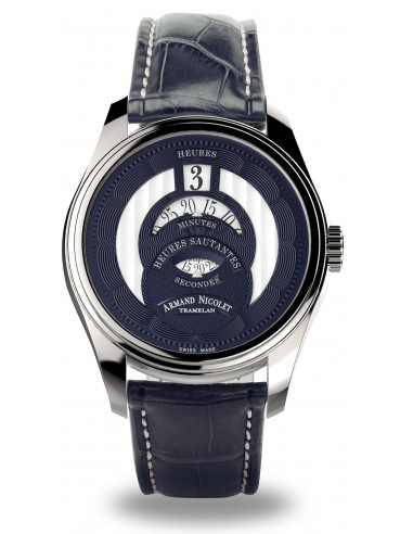 Armand Nicolet A136AAA-BU-P974BU2 HS2 Collection Mechanical Automatic watch