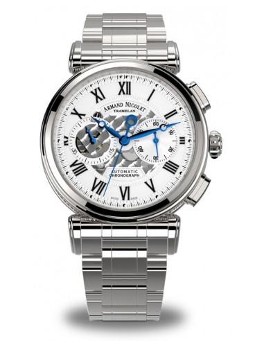 Armand Nicolet A424AAA-AG-MA2420 ARC Royal Collection Mechaniczny automatyczny zegarek 4193.525 - 1