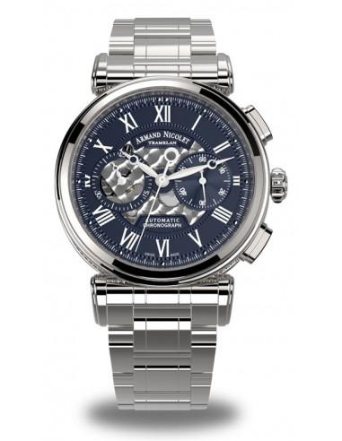 Armand Nicolet A424AAA-BU-MA2420 ARC Royal Collection Mechaniczny automatyczny zegarek 4193.525 - 1