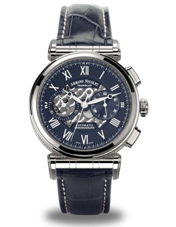 Armand Nicolet A424AAA-BU-P974BU2 ARC Royal Collection Mechanical Automatic watch