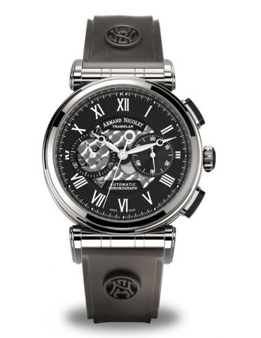 Armand Nicolet A424ANA-NR-G9660 ARC Royal Collection Mechaniczny automatyczny zegarek 3993.82934 - 1