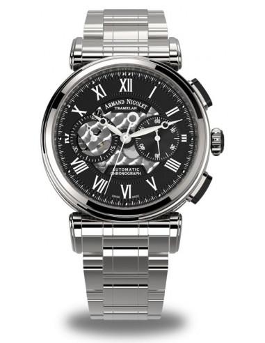 Armand Nicolet A424ANA-NR-MA2420 ARC Royal Collection Mechaniczny automatyczny zegarek 4393.220661 - 1