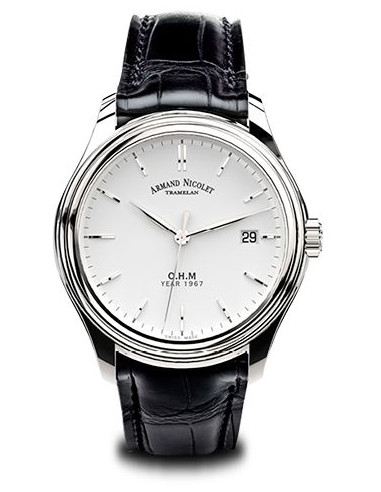 Armand Nicolet A780AAA-AG-PI0780NA L15 Collection Mechanical Automatic watch
