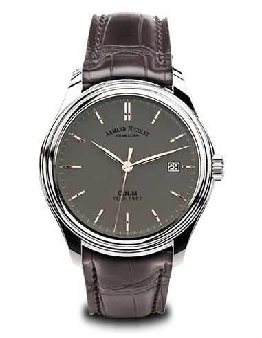 Armand Nicolet A780AAA-GS-PI0780GA L15 Collection Mechanical Automatic watch 4493.0625 - 1