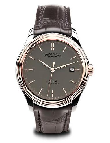 Zegarek mechaniczny Armand Nicolet D780AAA-GS-PI0780GA L15 Collection 5890.908161 - 1