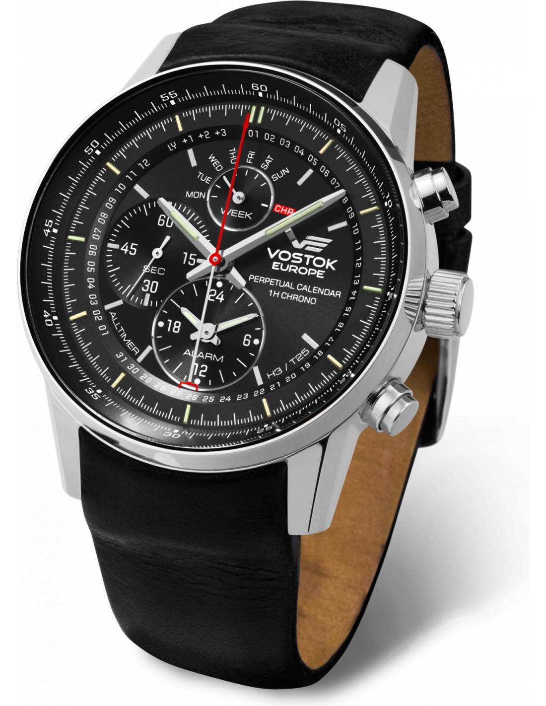 Vostok europe ym86 565a287 gaz 14 all timer watch for Vostok europe watches
