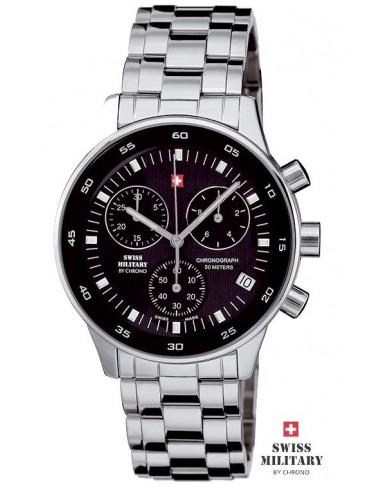 Ceas militar elvețian pentru bărbați de la ceasul CHRONO 17700 ST-1M