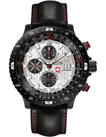 CX Swiss Military Hurricane silver 2115 watch