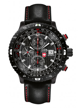 CX Swiss Military Hurricane black 2116 watch