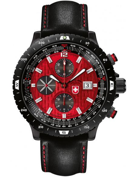 CX Swiss Military Hurricane red 2118 watch