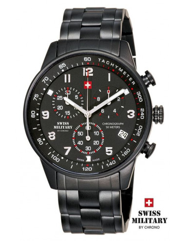Men's Swiss Military by CHRONO 20042 PVD_1M Watch