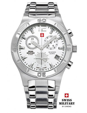 Men's Swiss Military by Chrono 20072-ST-2M watch
