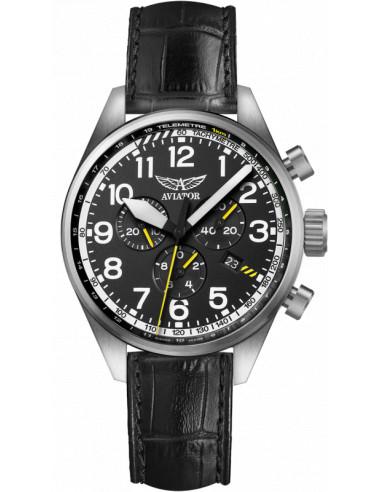 Zegarek AVIATOR Airacobra P45 Chrono V.2.25.0.169.4 464.283125 - 1