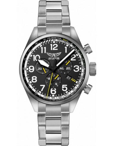 Zegarek AVIATOR Airacobra P45 Chrono V.2.25.0.169.5 514.210036 - 1