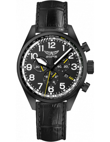 AVIATOR Airacobra P45 Chrono V.2.25.5.169.4 watch 514.210036 - 1