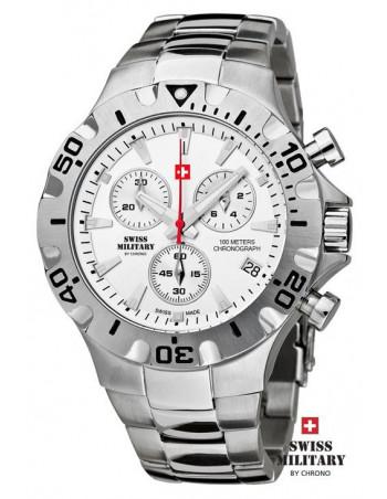 Men's Swiss Military by Chrono 20087-ST-2M watch