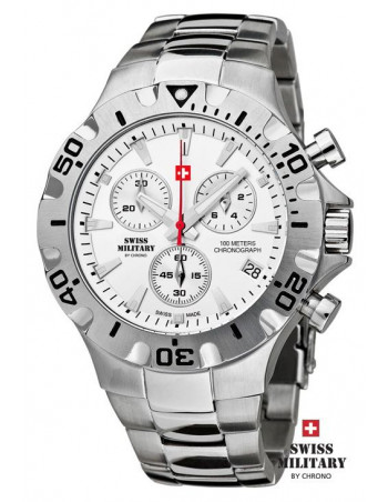 Men's Swiss Military by Chrono 20087-ST-2M watch