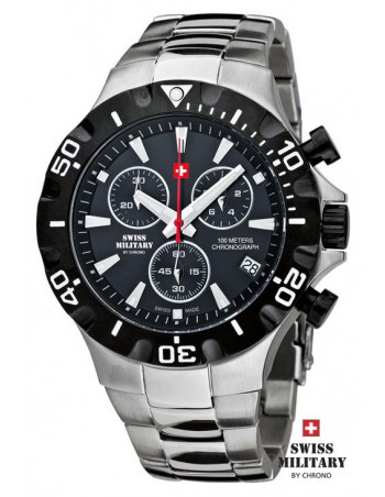 Men's Swiss Military by Chrono 20087-BI-1M watch