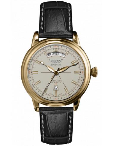 AVIATOR Douglas dzień-data V.3.20.1.147.4 zegarek 1023.423786 - 1