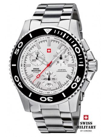 Men's Swiss Military by Chrono 20084-ST-2M watch