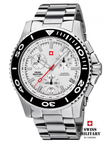 Men's Swiss Military by Chrono 20084-ST-2M watch