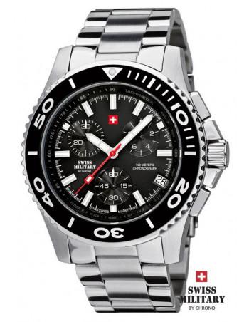 Men's Swiss Military by Chrono 20084-ST-1M watch