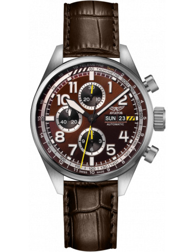 AVIATOR Airacobra P45 Chrono Auto V.4.26.0.182.4 watch 1762.274965 - 1