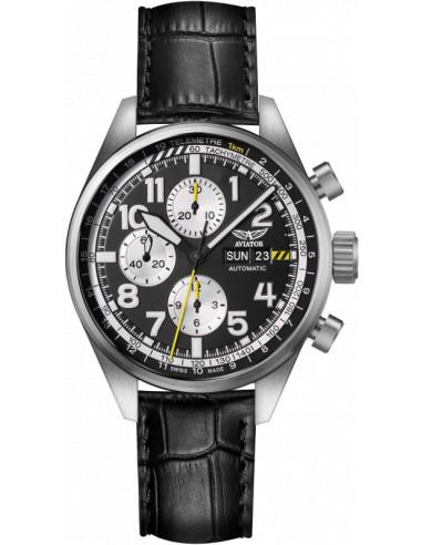 Zegarek AVIATOR Airacobra P45 Chrono Auto V.4.26.0.175.4 1762.274965 - 1