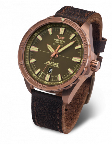 Vostok Europe NH35A-320O516 Almaz Bronze automatic watch