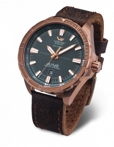 Vostok Europe NH35A-320O507 Almaz Bronze automatic watch