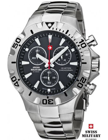Men's Swiss Military by Chrono 20087-ST-1M watch