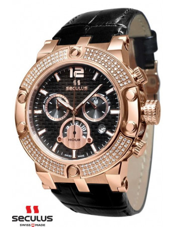 Men's SECULUS 4490.574S Luxury Chronograph Watch