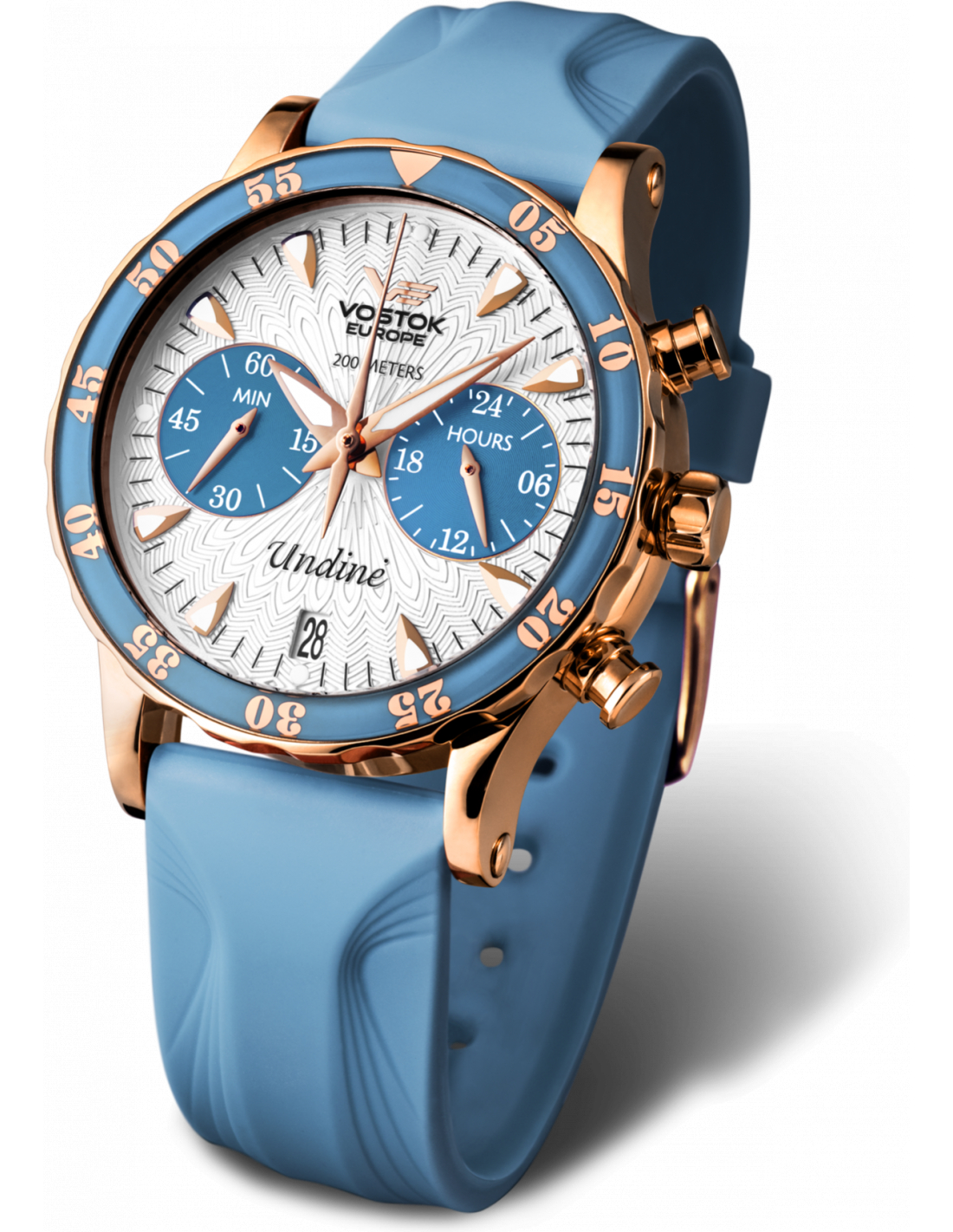 Vostok europe undin vk64 515b527 ladies watch for Vostok europe watches