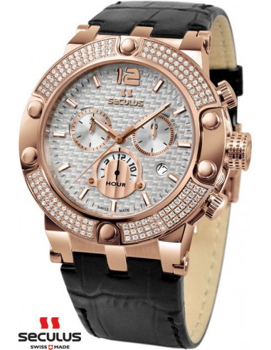 Men's SECULUS 4490.572S Luxury Chronograph Watch