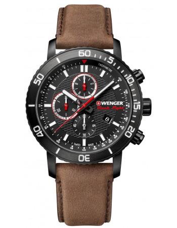 Wenger Black Night Roadster 01.1843.107 chrono watch Wenger - 1
