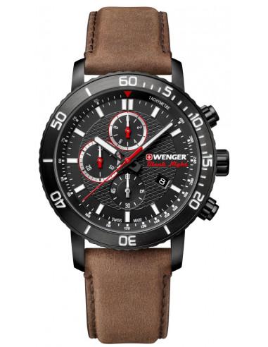Zegarek chronograficzny Wenger Black Night Roadster 01.1843.107 298.539042 - 1