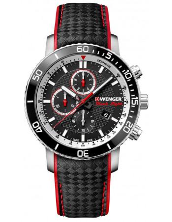 Hodinky Wenger Black Night Roadster 01.1843.105 chrono Wenger - 1 ... 00c27d44ef9
