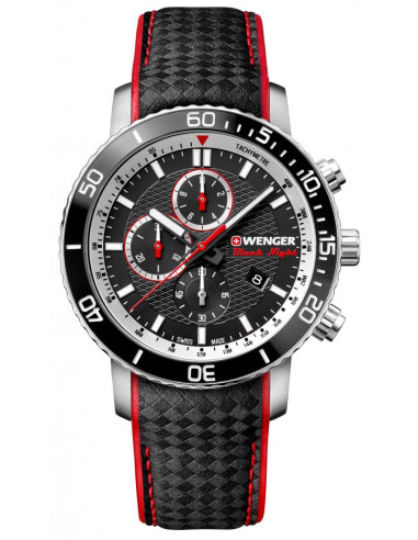 Wenger Black Night Roadster 01.1843.105 chrono watch Wenger - 1