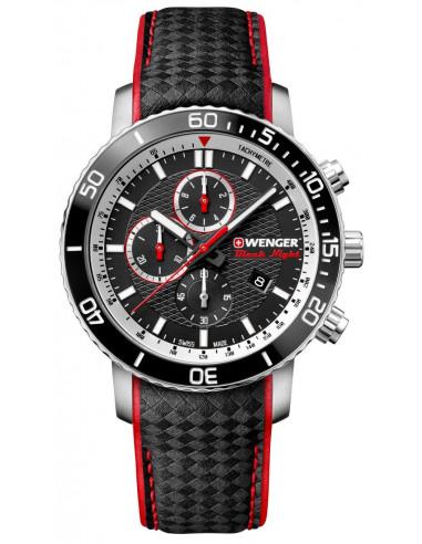 Zegarek chronograficzny Wenger Black Night Roadster 01.1843.105 288.554458 - 1