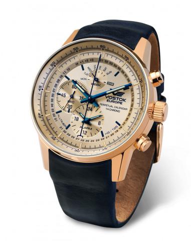 Vostok Europe YM86 / 565B290 GAZ 14 Zegarek z zegarem 538.173036 - 1