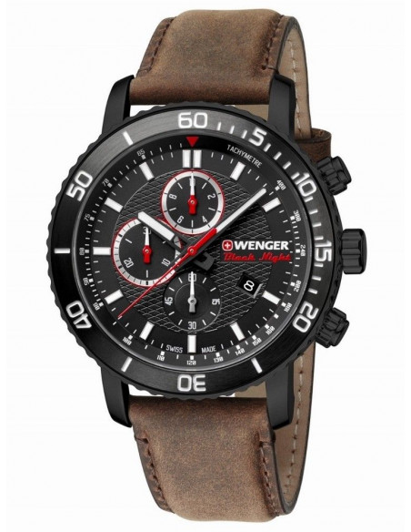 Wenger Black Night Roadster 01.1843.107 chrono watch Wenger - 2