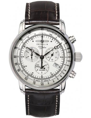 Hodinky Zeppelin 7680-1 100 years Zeppelin chronograph 289.586744 - 1