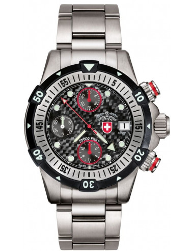 Zegarek CX Swiss Military 20000 FEET czarny 1946 3984.847208 - 1