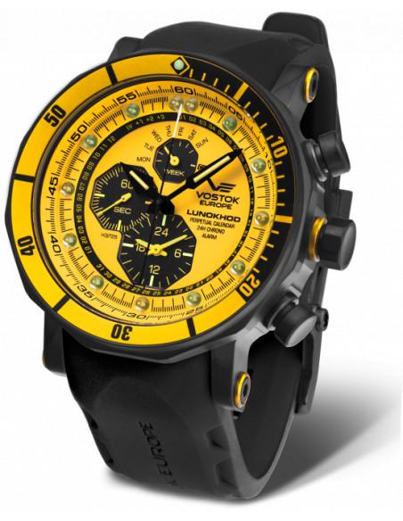 Vostok-Europe YM86-620C504 Lunokhod Chronograph Uhr