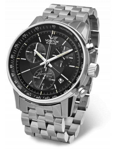 Zegarek chronograf Vostok Europe GAZ-14 6S30 / 5659174 483.253833 - 1