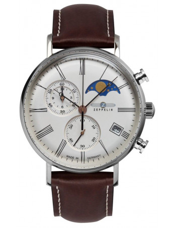 Zeppelin 7194-5 LZ120 Rome watch
